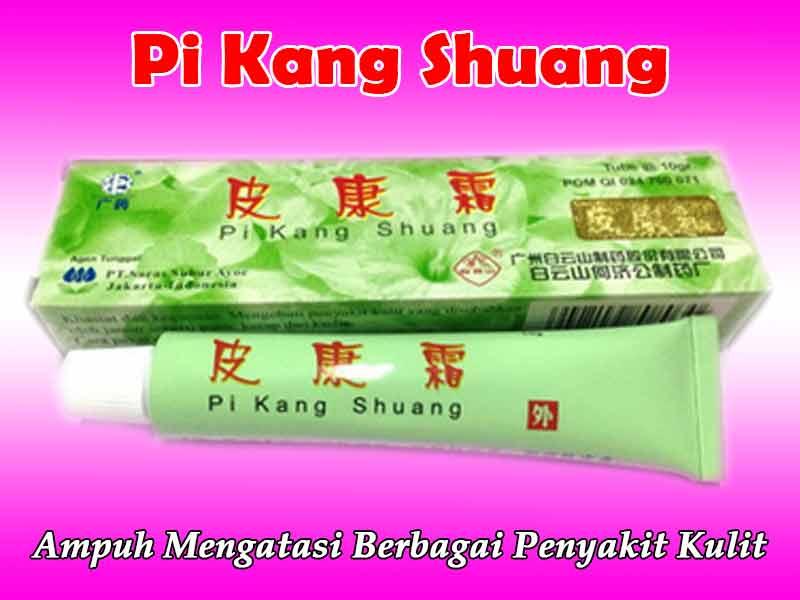 Kegunaan Salep Pi Kang Shuang Hijau