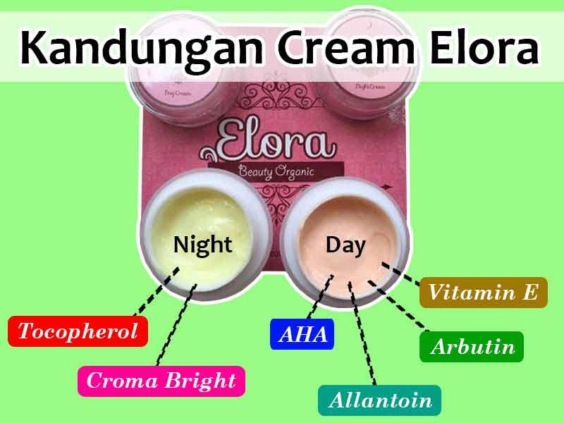 Warna Cream Elora Yang Asli