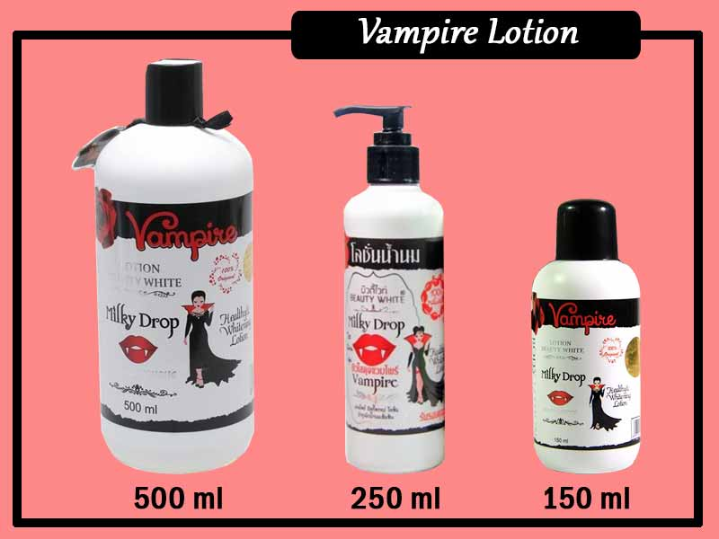 Cara Membedakan Lotion Vampire Asli Dan Palsu