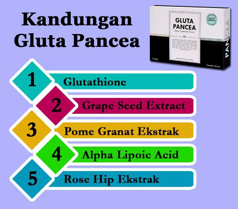 Review Gluta Panacea 1 Box