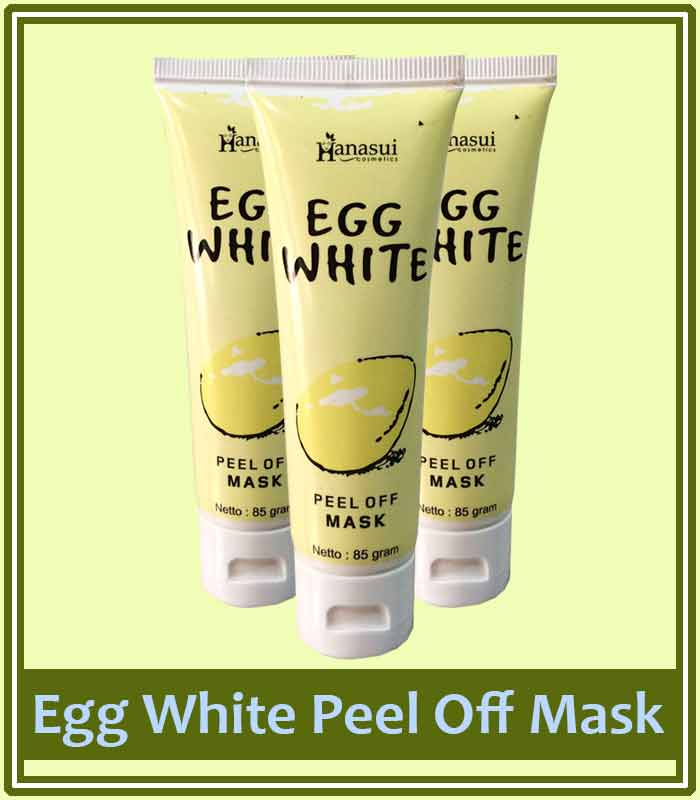 Egg White Peel Off Mask Asli Dan Palsu