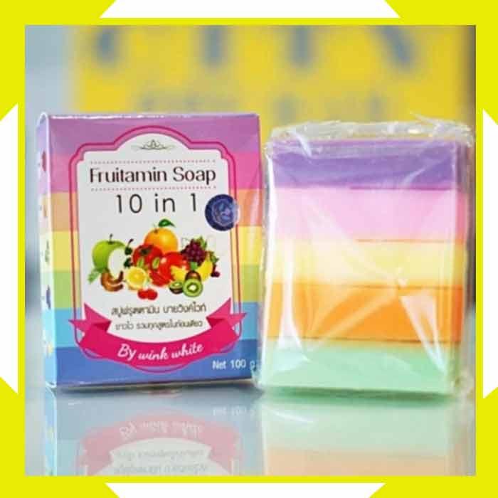 Cara Menggunakan Fruitamin Soap