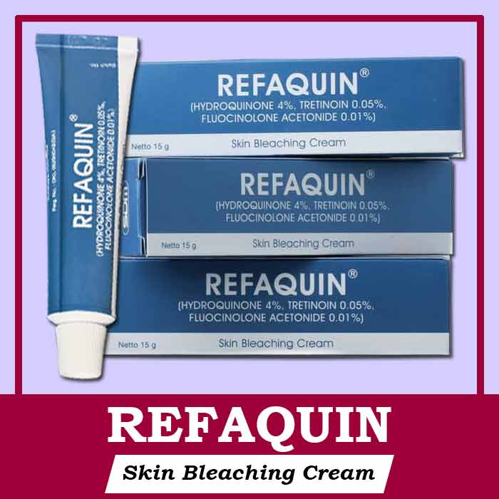 Kegunaan Refaquin Cream Bleaching