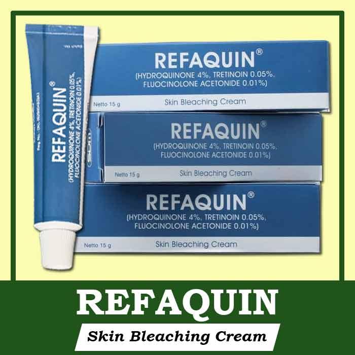 Cara Kerja Refaquin Cream