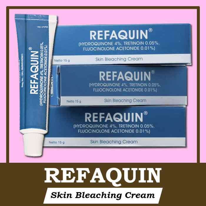 Salep Refaquin Bleaching Cream