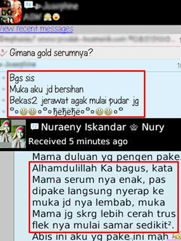 Efek Samping Serum Gold Hanasui