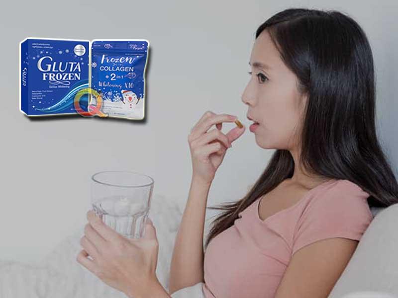 PROMO Suplemen Pemutih Badan Gluta Frozen di Ciruas