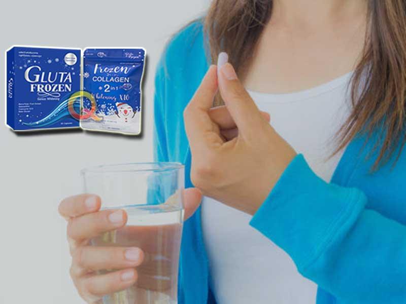 PROMO Suplemen Pemutih Tubuh Gluta Frozen di Oksibil