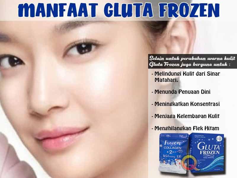 Bagaimana Reaksi Obat Gluta Frozen Collagen