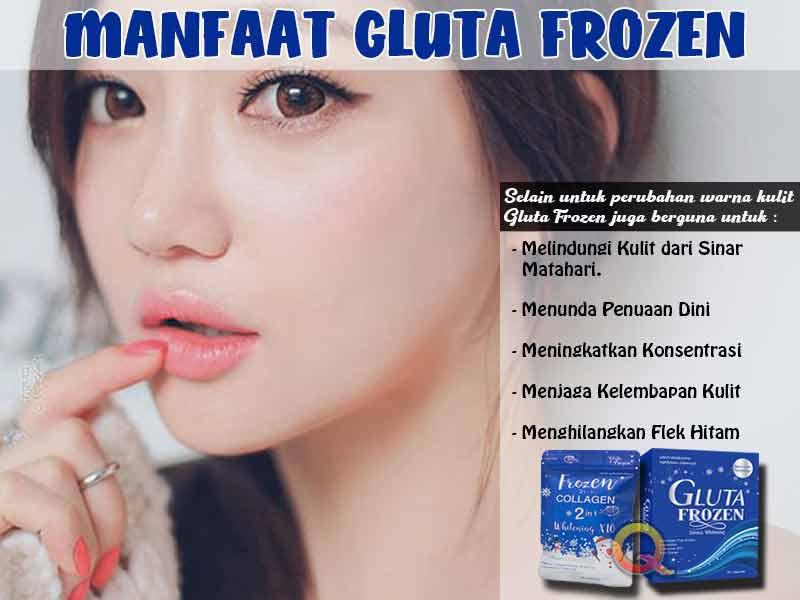 Jual Suplemen Pemutih Tubuh Gluta Frozen di Indragiri Hulu