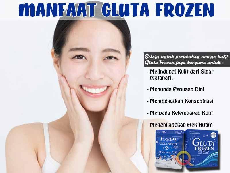 Inilah Dosis Mengkonsumsi Gluta Frozen Bpom