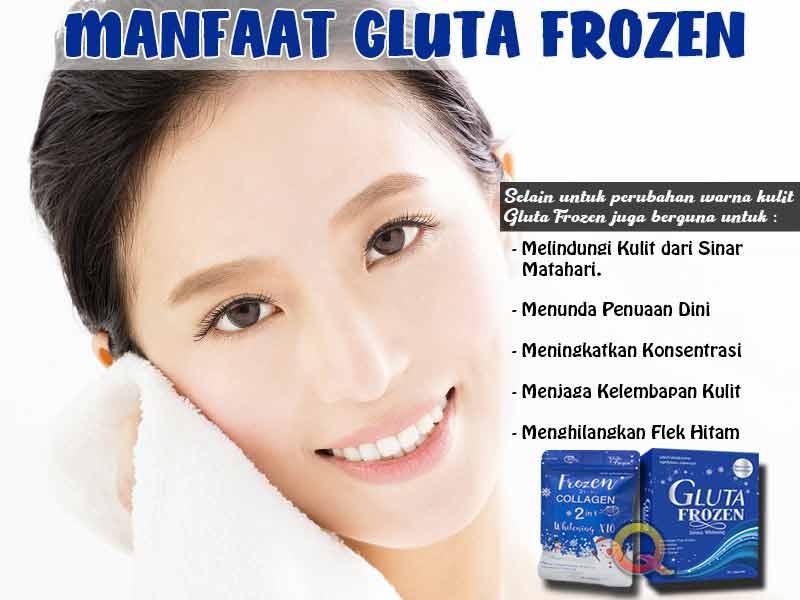 PROMO Suplemen Pemutih Badan Gluta Frozen di Siak