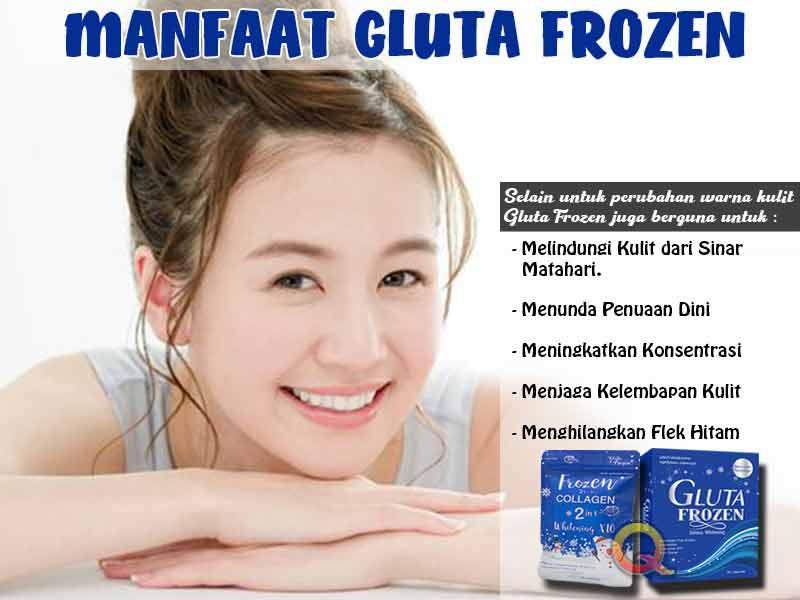 Jual Suplemen Pemutih Kulit Gluta Frozen di Kutai Kartanegara