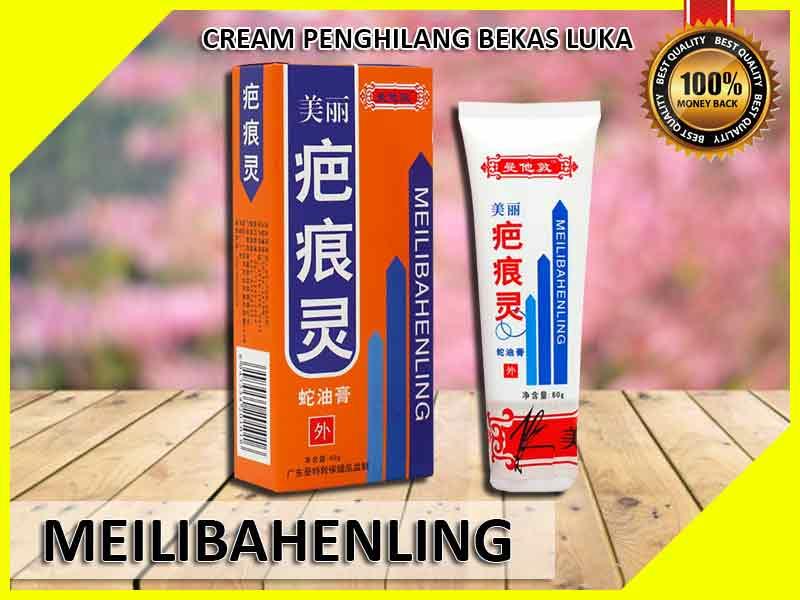 Jual Cream Penghilang Bekas Jerawat Meilibahenling di Pasuruan