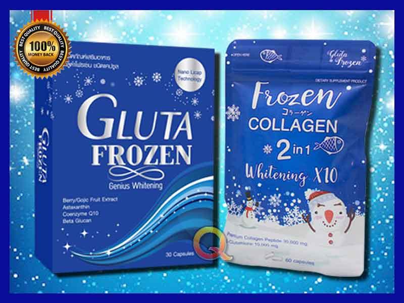Jual Suplemen Pemutih Kulit Gluta Frozen di Bau-Bau