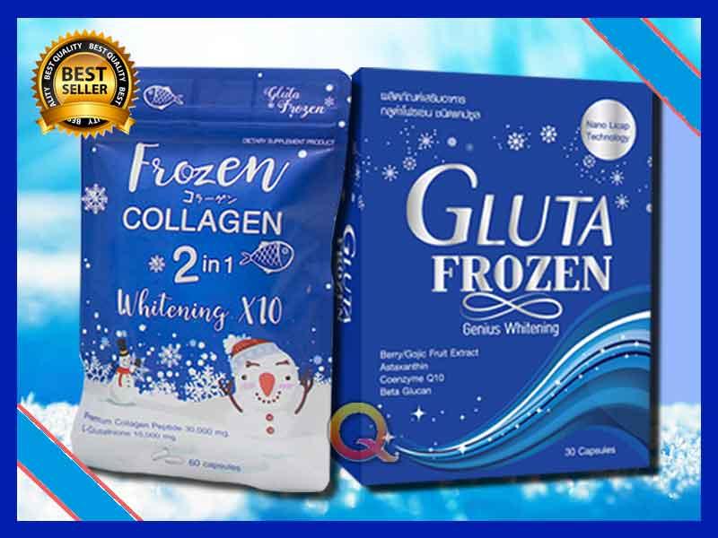 Jual Suplemen Pemutih Badan Gluta Frozen di Tegal