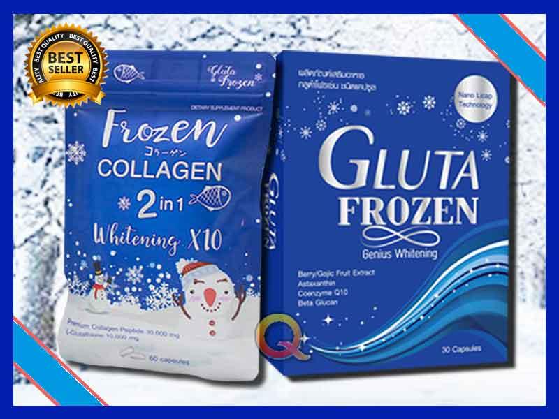 PROMO Suplemen Pemutih Kulit Gluta Frozen di Fef